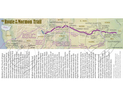 The Route of the Mormon Trail Bookmark