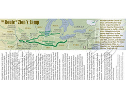 The Route of Zion's Camp Bookmark