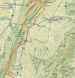 Northern Shenandoah Valley Adventure Route