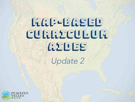 Map-Based Curriculum Aides: Update 2