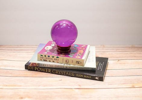 crystal ball books