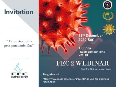 The 2nd FEC Business Forum ( Webinar )