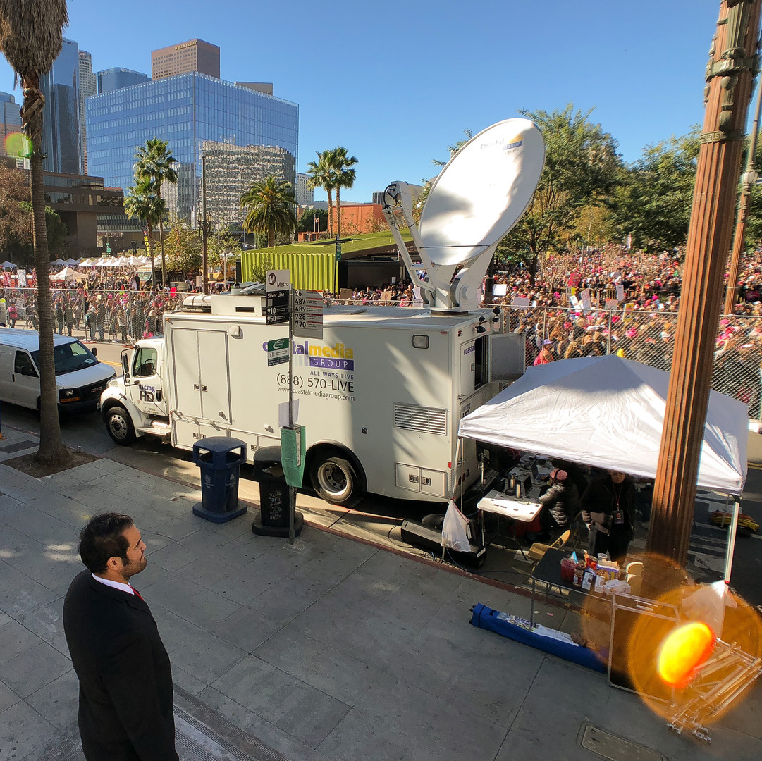 Women's March LA 2018 live broadcast