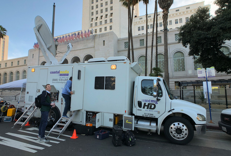 Women's March LA 2018 live broadcast