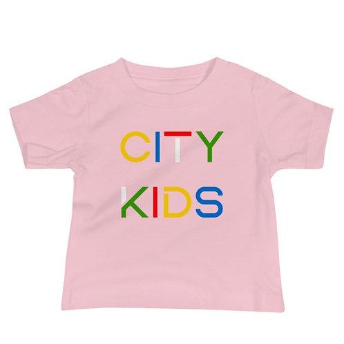 City Kids Baby Jersey Short Sleeve Tee