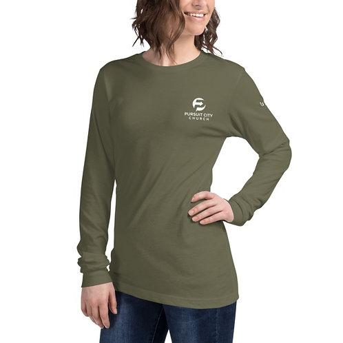 Pursuit Logo Long Sleeve Shirt