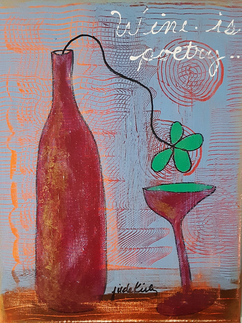 Wine is Poetry
