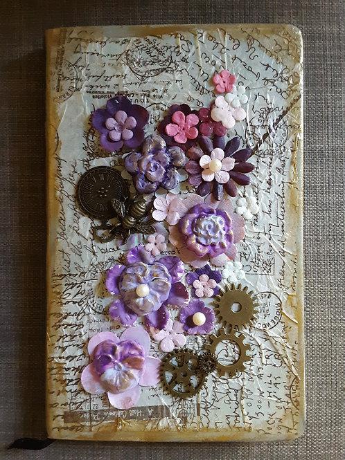 Journal - Purple Flowers
