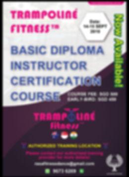 Trampoline Certification Dated 14- 15 Se
