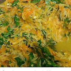 Spinach & Pumpkin Rice