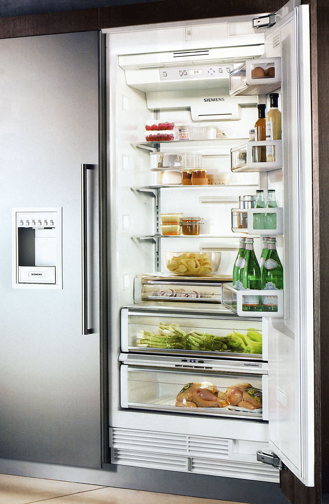 freezer integrated