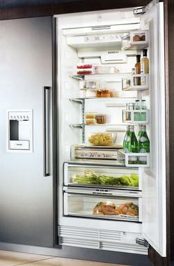 freezer integrated