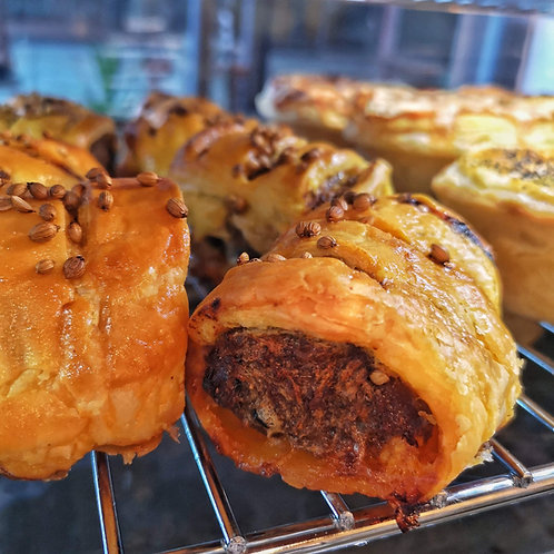 Lamb & Harissa Sausage Roll
