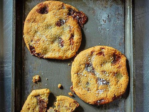 Gluten-Free Salted Caramel Cookie