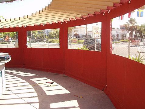 Restaurant Enclosure