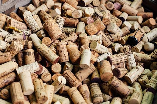 Bouchons de vins Champagne
