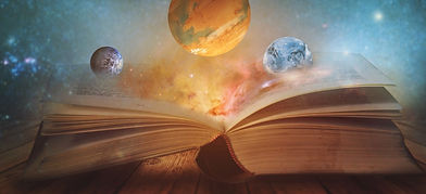 Book of the universe - opened magic book with planets and galaxies_edited_edited_edited_ed