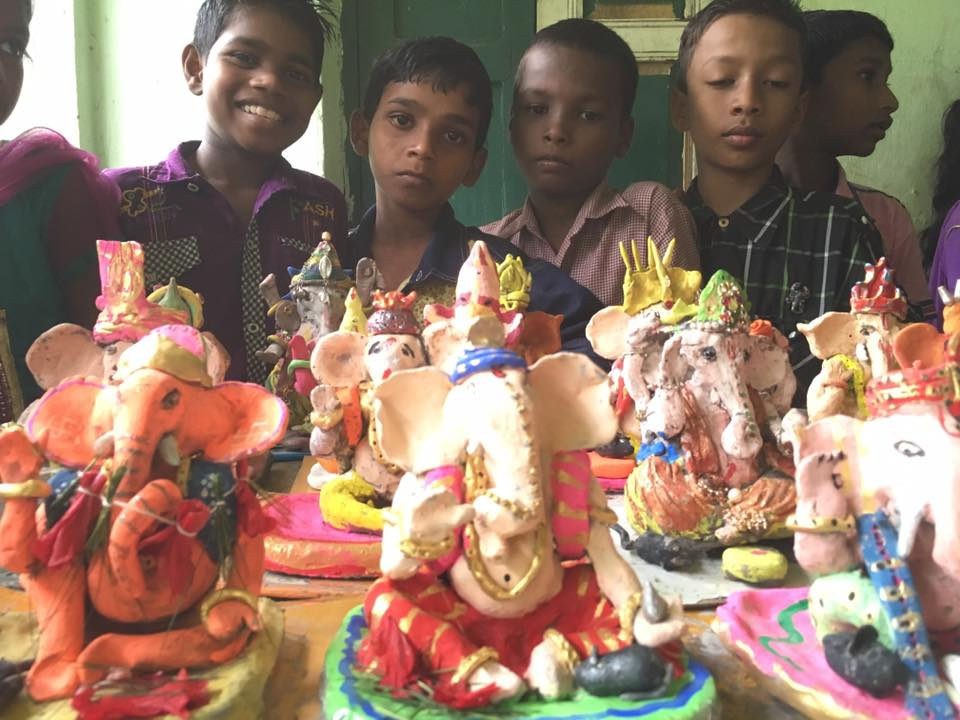 Eco Friendly Ganesh Workshop