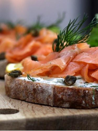 Lachs Sandwich @lyckacoffeebar Meilen