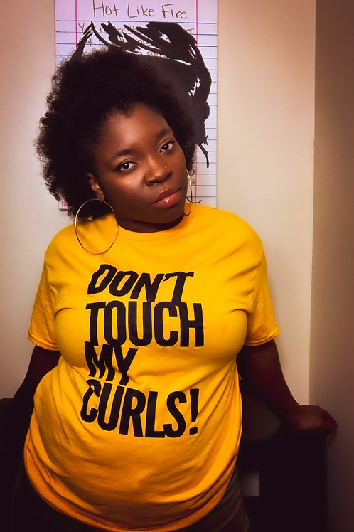 DON'T TOUCH MY CURLS | Tee