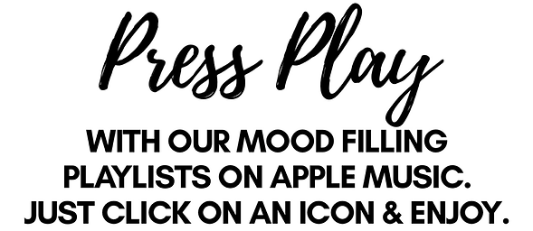 STATE YOUR MOOD PRESS PLAY PLAYLISTS