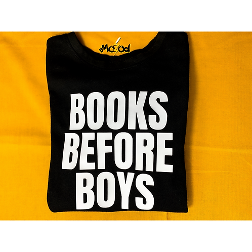 BOOKS BEFORE BOYS | YOUTH