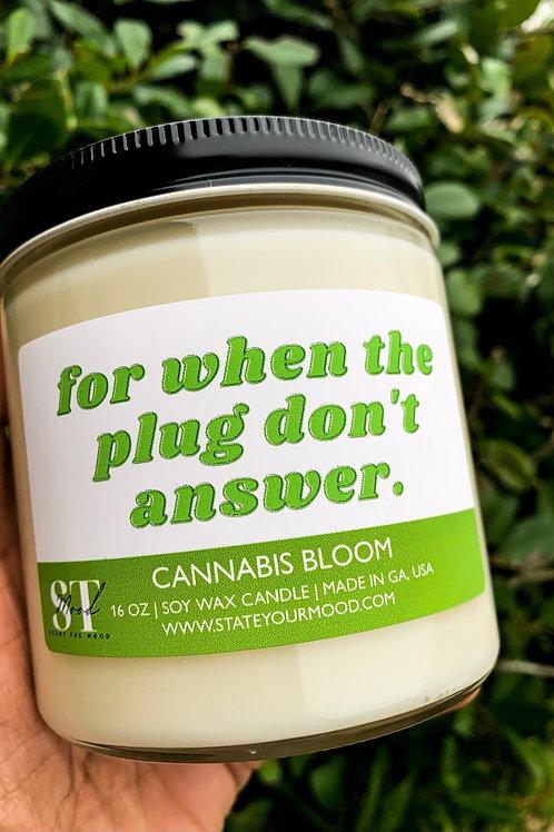 The Plug   Candle