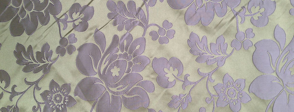 Lavender and Creamy Gold Floral