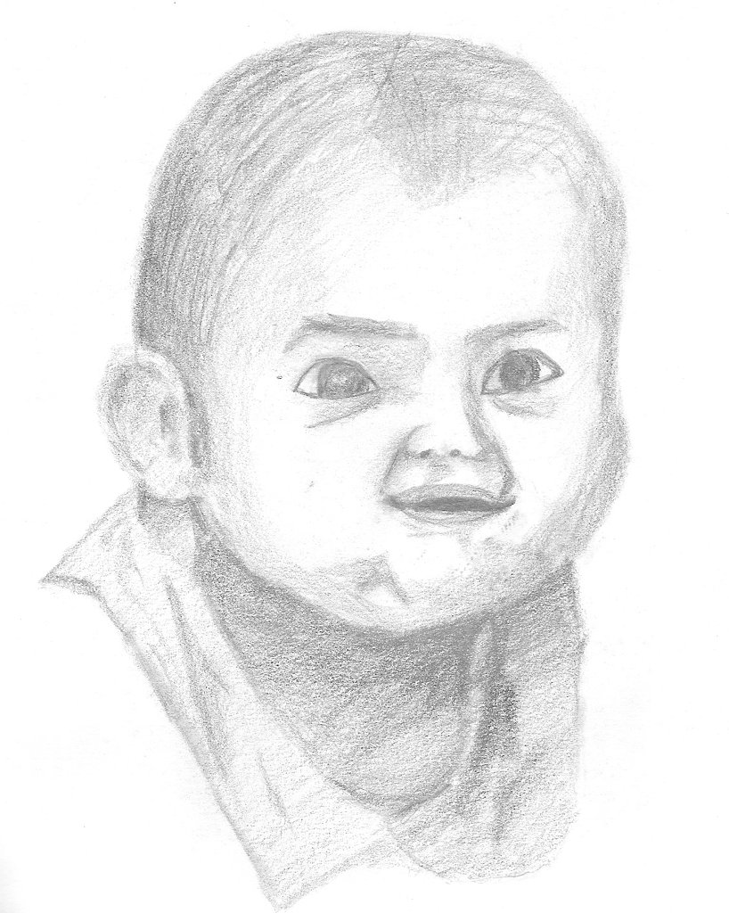 Freehand Drawing - Baby