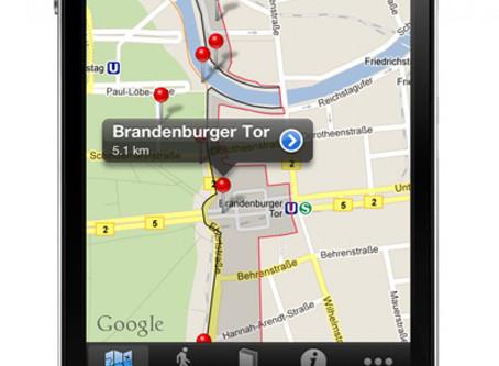 Auf den Spuren der Berliner Geschichte mit den Apps rund um die Themen Berliner Mauer und das geteil