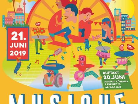 Veranstaltungstipp: Fête de la Musique am 21. Juni 2019
