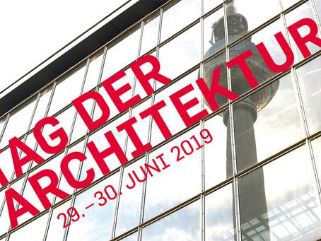 Veranstaltungstipp: Tag der Architektur am 29. & 30. Juni 2019