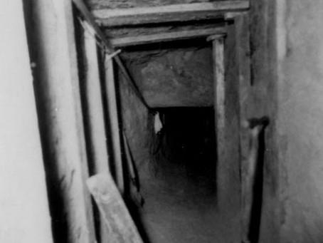 Gelungene Senioren-Tunnelflucht am 5.5.1962
