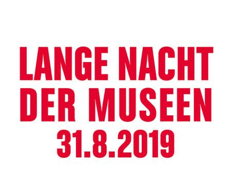 75 Museen, 750 Veranstaltungen, 1 Ticket = Lange Nacht der Museen 2019