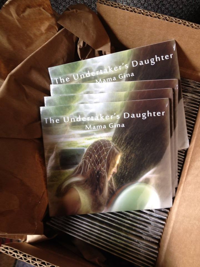 """""""The Undertaker's Daughter"""" CDs are here!"""