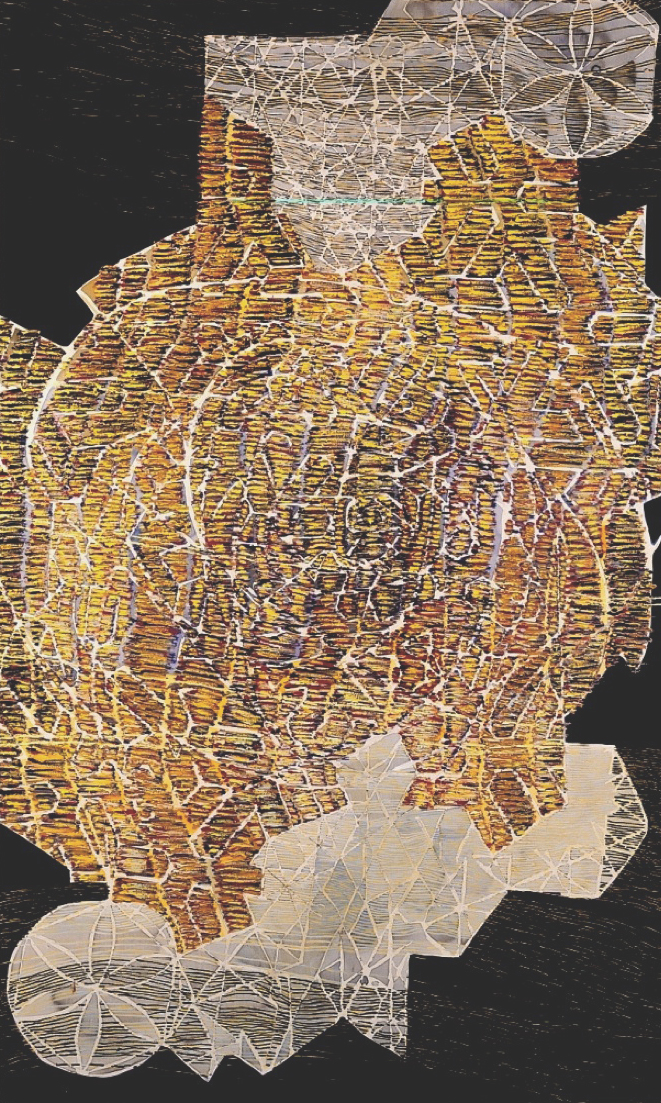 אורנמנטיקה איסלמית גיאומטרית. 2001