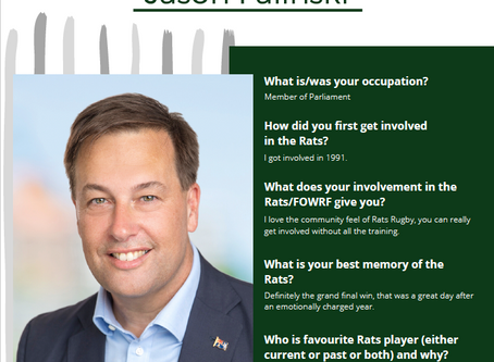 5 Quick Questions with FOW Member