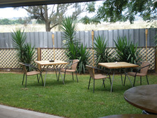 Relaxing Outside areas at Singleton Rugby Club