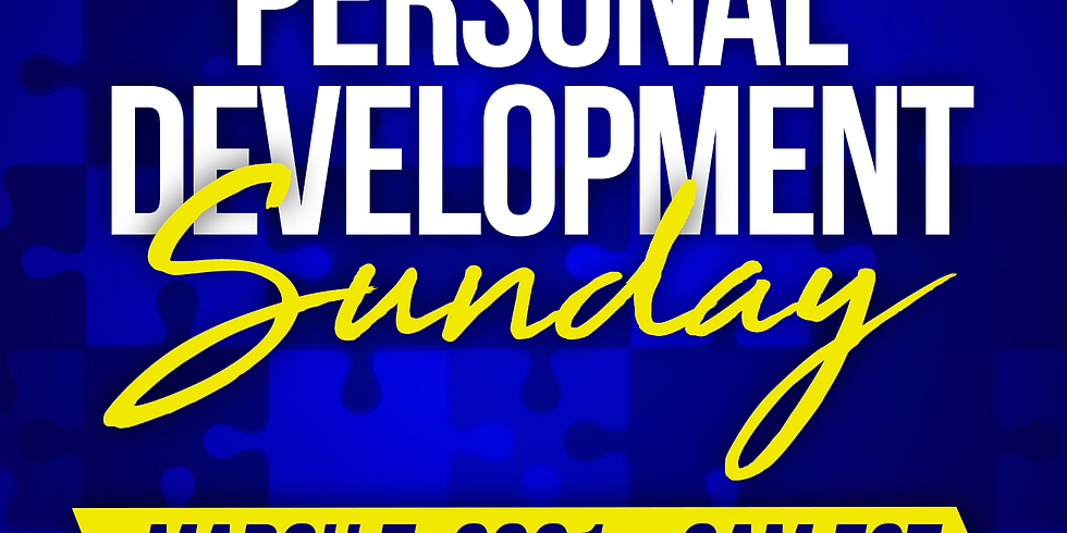 Personal Development Sunday