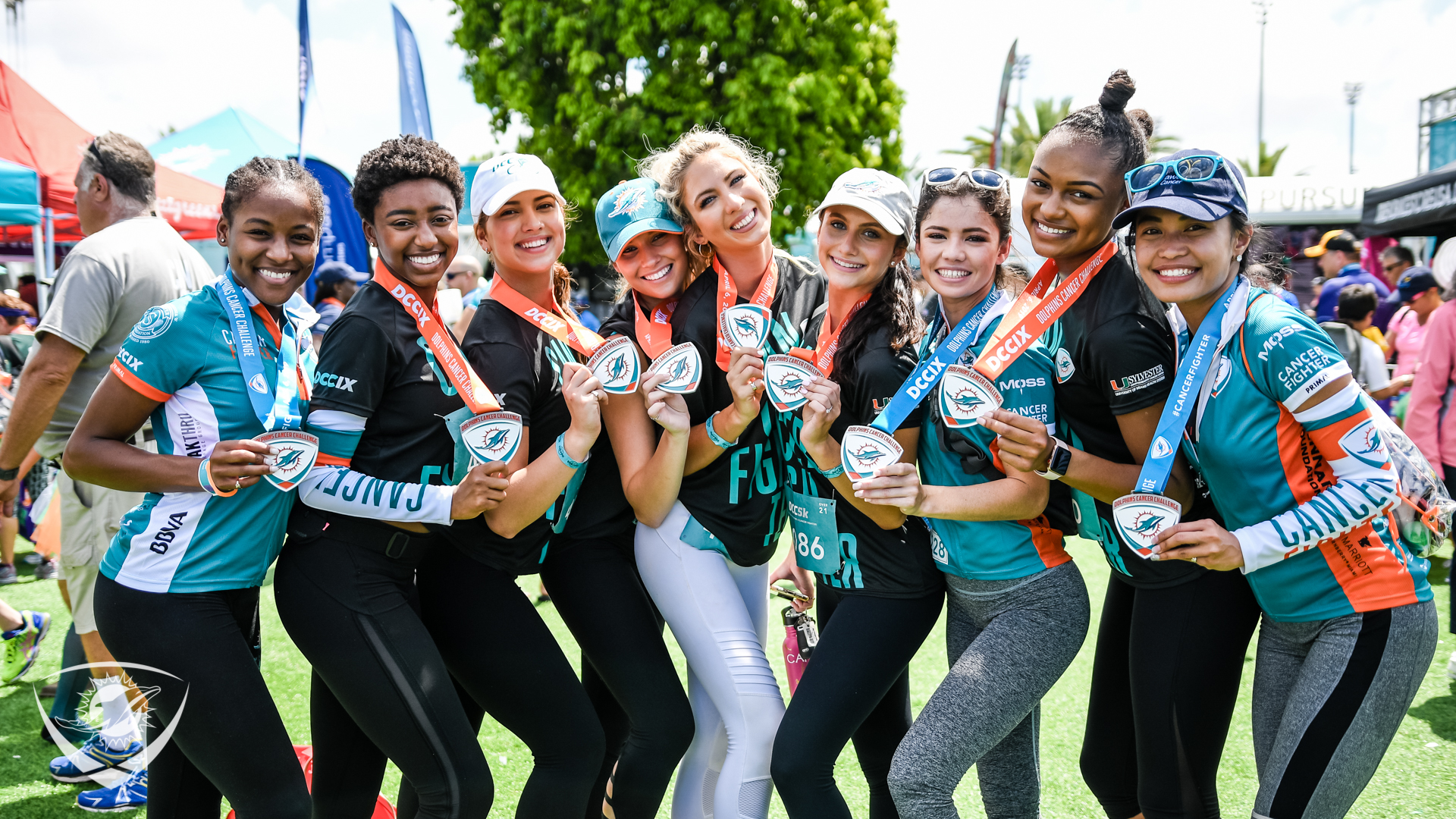 Miami Dolphins Cheer at DCC