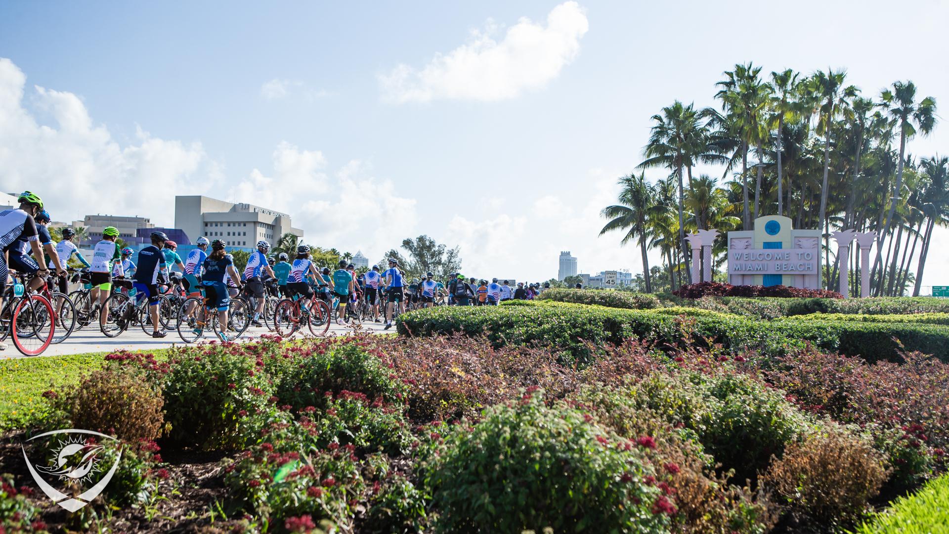 DCC rides through Miami Beach
