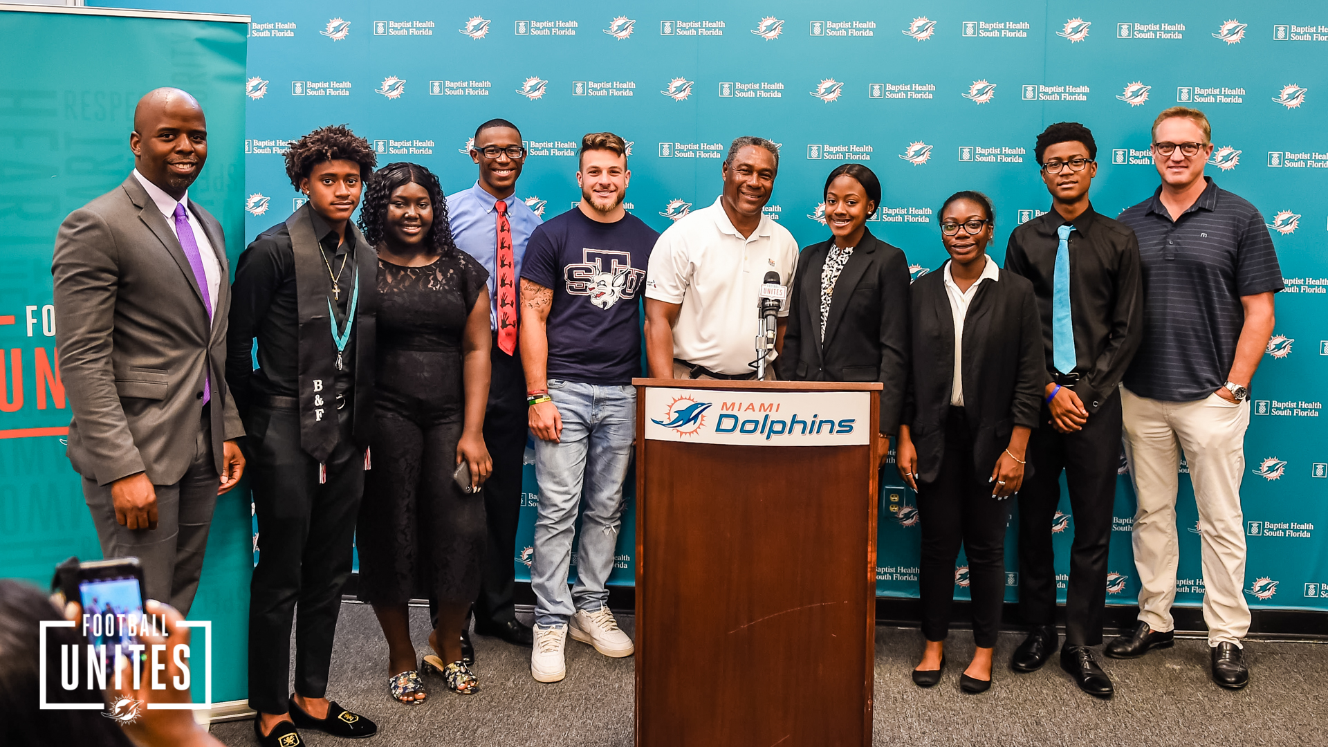 Miami Dolphins Provide Tuition Support f