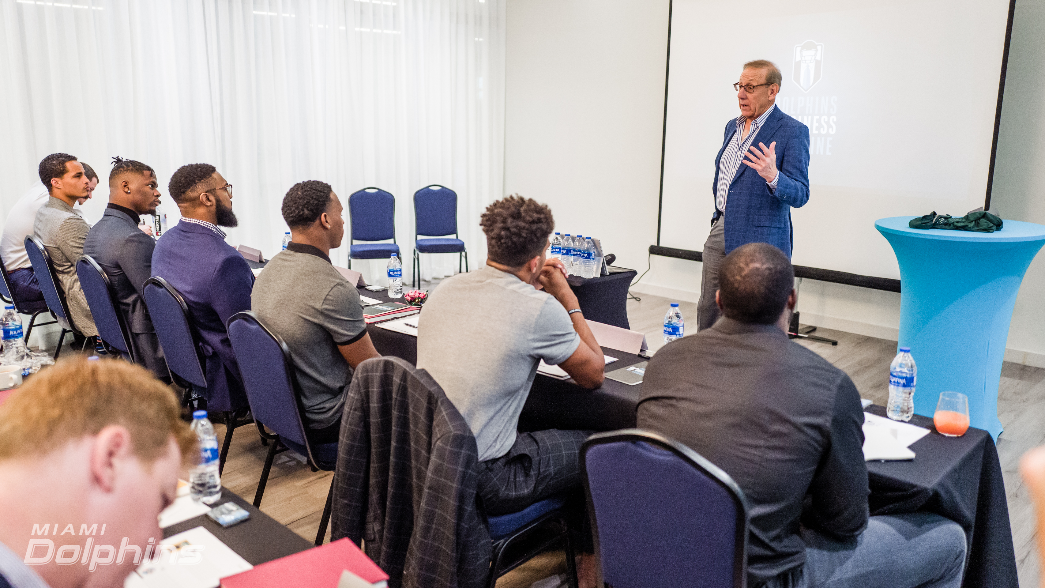 Ross at Business  Combine 2019