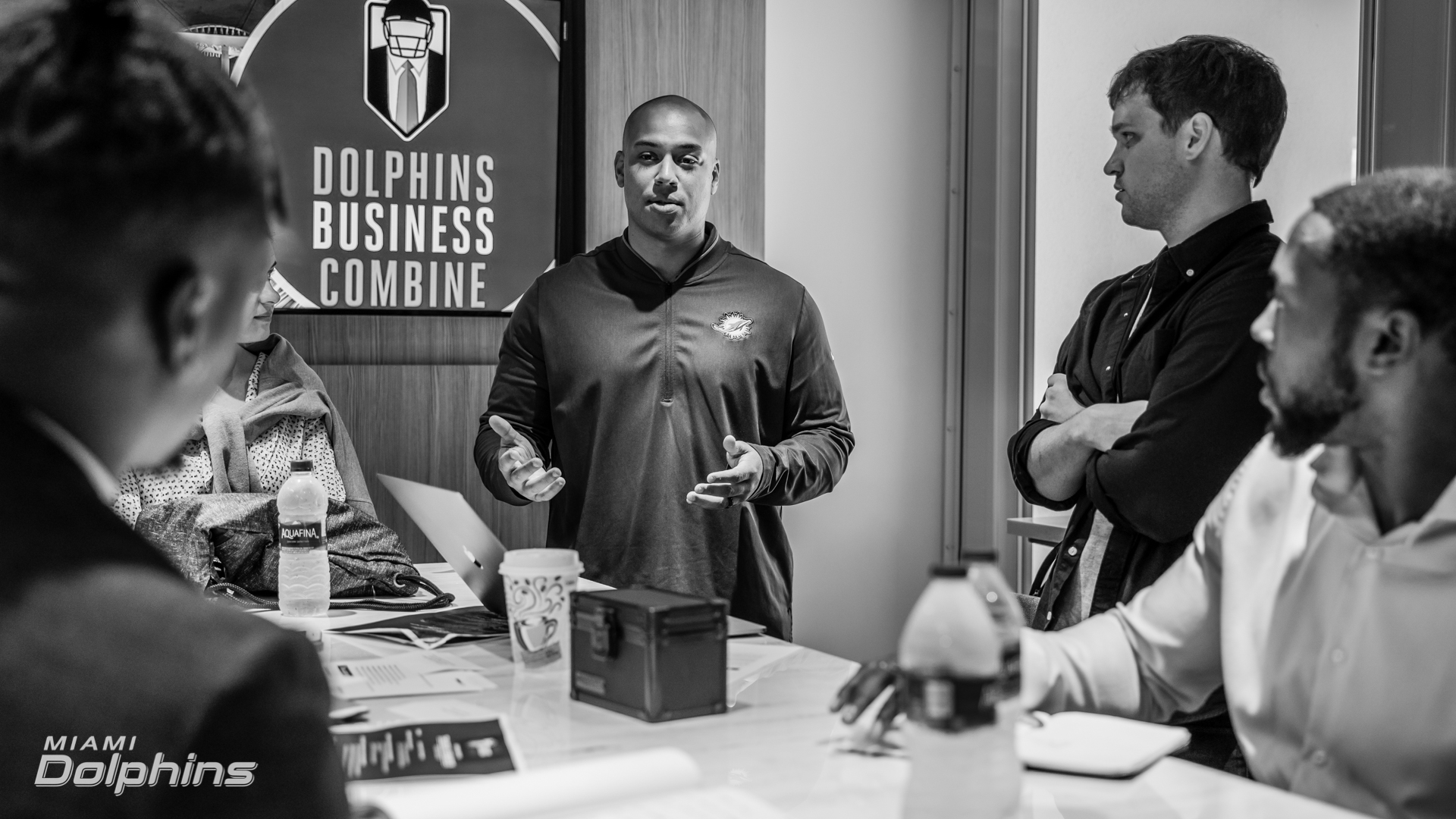 Kaleb Thornhill at Dolphins Business Com