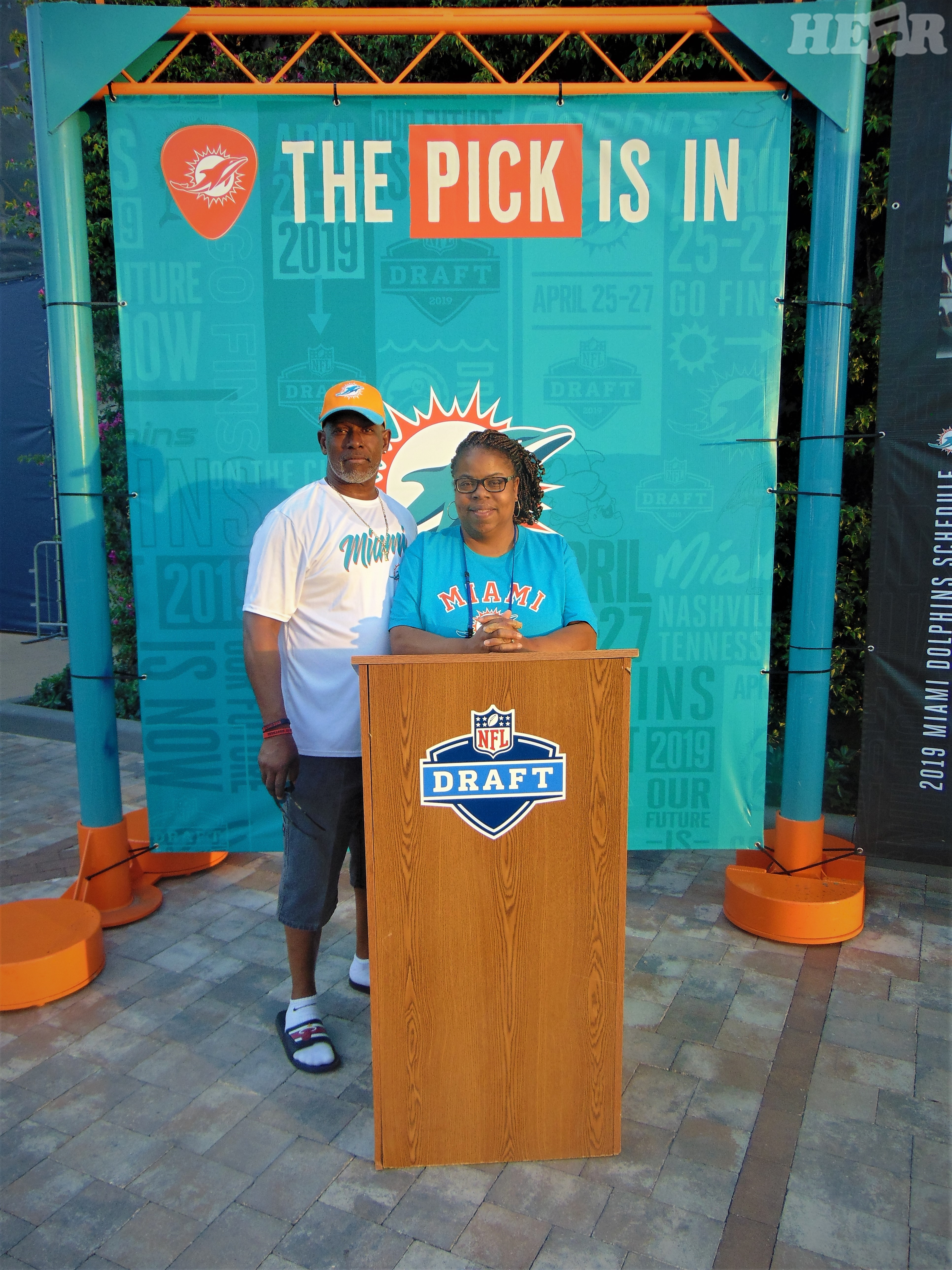 Miami Dolphins Draft Party 16