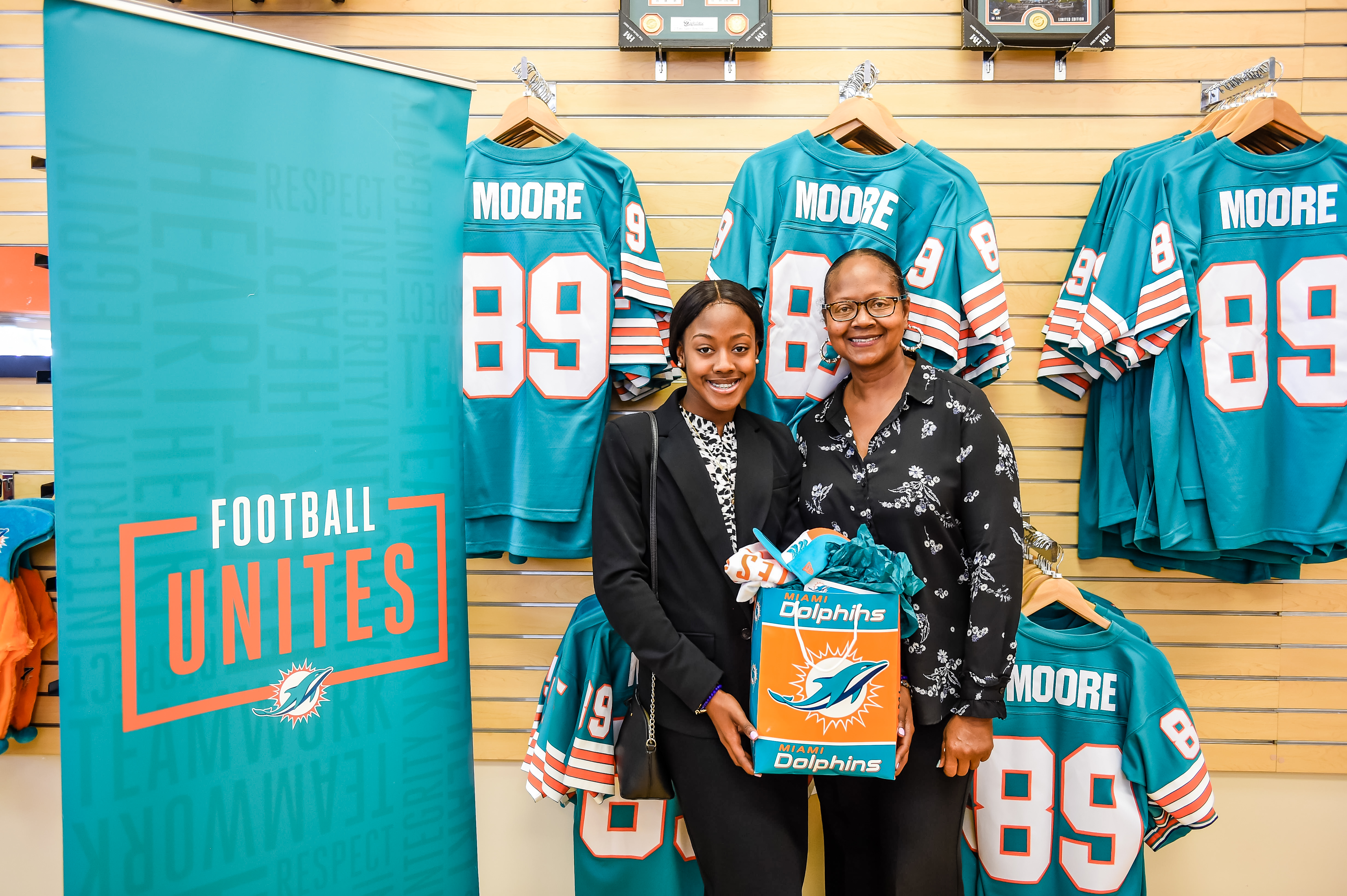 Miami Dolphins Select Shanette Bain of M