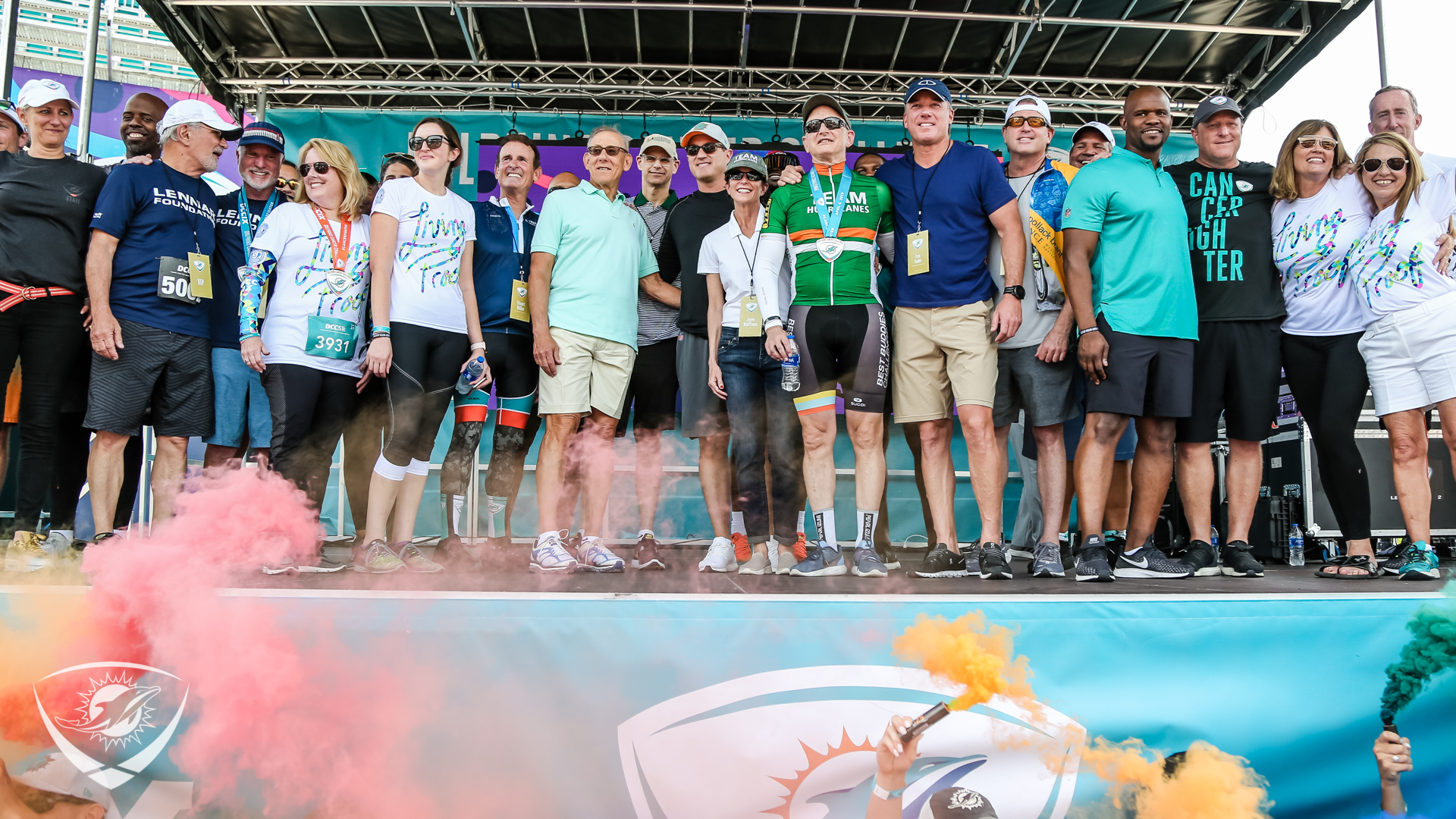 Successful Dolphins Cancer Challenge