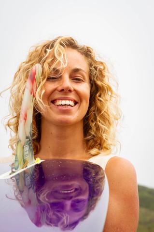 Annika personal branding photoshoot on beach