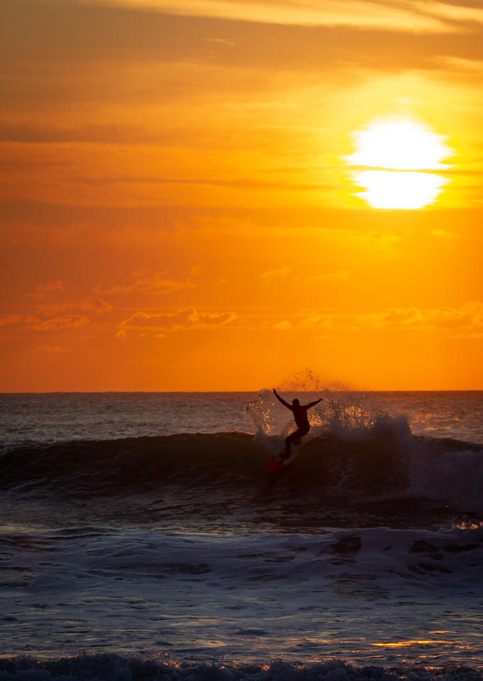 Burning Surfer