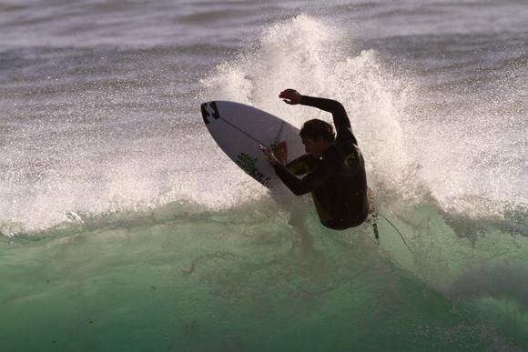 Professional surfer Ericeira